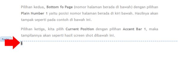 cara membuat halaman di word 2007