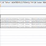 Cara Menghitung Umur di Excel 2007 dengan Fungsi DATEDIF BERTINGKAT untuk Pemula