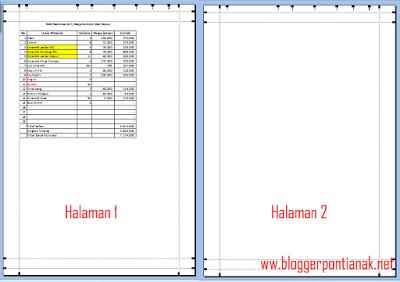 Cara Membuat Judul di Excel 2007