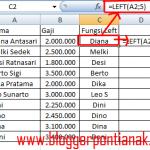 Cara Memaksimalkan Fungsi Left di Excel 2007 untuk Mengolah Data [Tutorial Pemula]