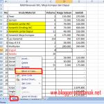 """Cara Memindahkan Sheet pada Microsoft Excel 2007 dengan Perintah """"Move or Copy"""""""
