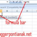 2 Cara Memasukan Rumus di Excel 2007 [Tutorial Pemula]