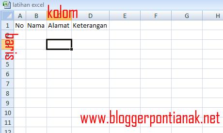 Cara Pintas Menambah Kolom di Excel 2007 dengan Keyboard