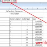Inilah Rumus Excel untuk Menghitung Jumlah Data [Tutorial Pemula]