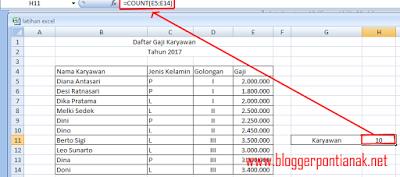 Inilah Rumus Excel untuk Menghitung Jumlah Data