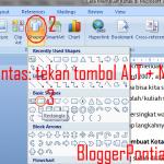 Cara Membuat Kotak di Microsoft Word