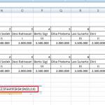 Cara Menggunakan Rumus Hlookup di Excel 2007 untuk Pemula