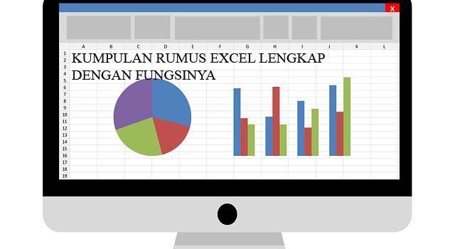Kumpulan Rumus Excel Lengkap dan Fungsinya
